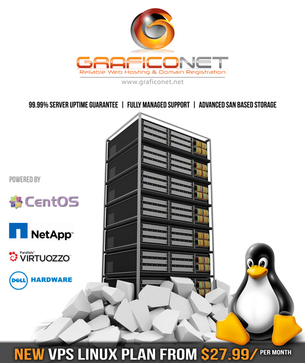 graficonet new VPS Linux Plan